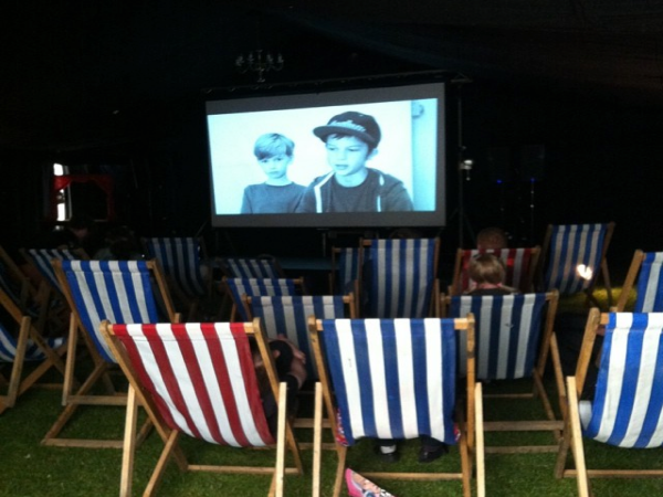 Last friday shorts at Village green festival